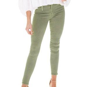 Pistola Aline High Rise Skinny Jeans khaki green